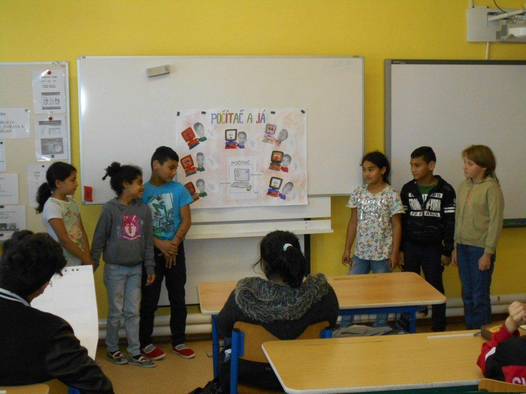 prezentace čtvrté třídy