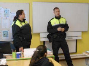 přednášející policisté